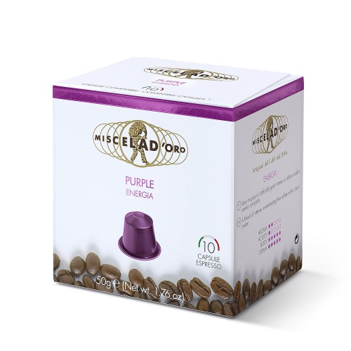 PURPLE - 10 Capsules Nespresso Compatible