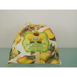 Handmade Panettone flavoured with Limoncello 500g