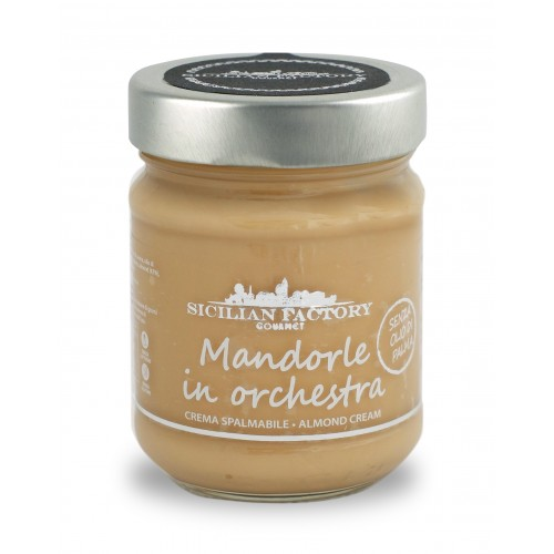 Almond in Orchestra - Almond cream 220gr by Sicilian Factory